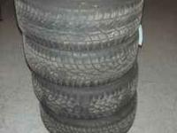 Up for sale is a set of 4 BMW Tires. Fit 3 series: