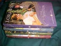 Here are 4 books by Lori Wick --- The English Garden