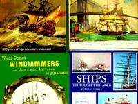 Sailing Ships Windjammers & Ships Through the Ages.  Up