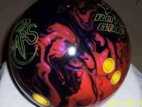 3 high performance bowling balls and 1 plastic ball,