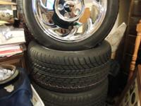 ##### 4-BRAND NEW -- C4 -- CHROME CORVETTE WHEELS AND