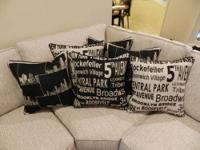 This listing is for 4 pillows. These are brand new and