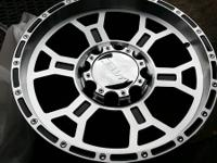 4 BRAND NEW V-TEC 18X9.5 WHEELS 8LUGS CHEVY DODGE