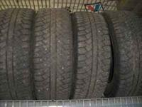 I have for sale 4 tires off of my 2010 GMC Sierra that