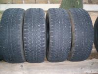 I HAVE 4 DUELERS LIKE NEW 8/10 TREAD LEFT. A/T NICE MUD