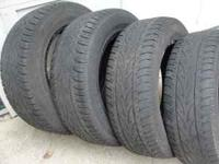 These are a matching set of 4 used Bridgestone,