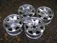 These wheels are Cadillac Escalade, and will fit other