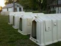 4 Calf Tel Calf Huts...Very good condition....Has