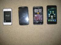 itouch 4th gen 32 gb with case and charger 150$ atrix 2