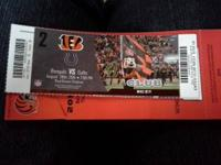 4 club tickets Bengals vs Colts August 28th  Each