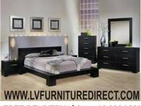4pc. Queen System Collection in Black Oak - $799 *