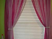4 sets of curtains to fit standard 3 foot window and