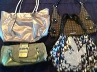 Lot includes 4 bags: Authentic Guess, Playboy, Nine