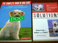 DOGS TRAINING SOLUTIONS & THE COMPLETE BOOK OF DOG CARE