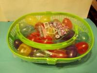 I have for sale 4 dozen Eggs in a basket (plastic