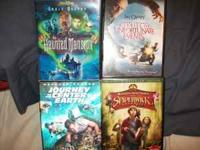 Just LOWERED PRICE TO ONLY $12.00 !!! 4 DVD movies with