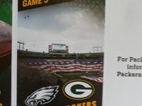 This listing is for 4 Tickets to see Green Bay Packers