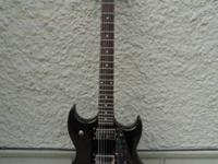 Selling four electric guitars. Silvertone Paul Stanley