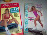 I HAVE FOUR LIKE NEW EXERCISE VHS TAPES: KATHY SMITH'S