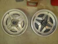 4 DATSUN MANUFACTURING PLANT WHEELS THAT WERE AN CHOICE