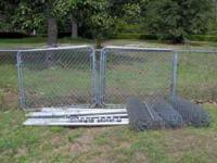 I have 4- 5' gates that make 2- 10' openings, 4- small