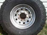 $1500 obo Hardly used Almost new 4 tires (including