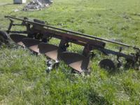 Make offer! I have a four bottom plow for sale. Last