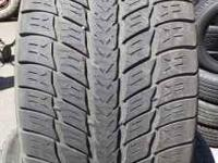 4 goodyear fortera 305 40 r22 tires. in good shape.