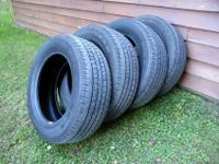 4 Goodyear Wrangler SR-A tires P275/60R20 Great shape!