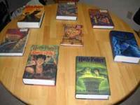 I have 4 Harry Potter Books they are all Hard Backs,