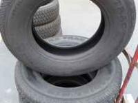 4 hercules terror trac LT8.75 r16.5 tires. good shape.