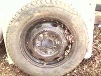 "4 HOLE 15"" SUPER BEETLE STOCK RIMS AND GOOD TIRES"