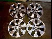 THIS POSTING IS FOR A SET OF 4 HONDA ACCORD 17' RIMS ,