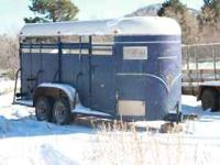 1977 Four horse stock trailer Call Dean For details