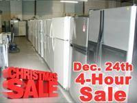 CHRISTMAS LIQUIDATION EVENT -- DEC. 24 FOR JUST 4