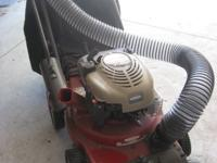 Chipper, mulcher, blower, vac Used one time, over $600
