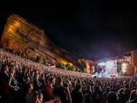 Indigo Girl performance at Red Rocks.  Indigo Girls and