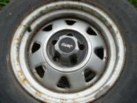 I have a set of 4 jeep rims with studded cooper