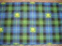 These are 4 John Deere Window Valances that are each 48