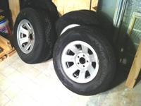 Have 4 Kenda Radial Klever H/P Truck Tires for sale.
