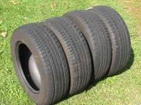 WE HAVE 4 KUHMO ECESTA TIRES. THERE 195/65R15 WITH