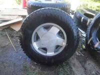 4 KUMHO ROADVENTURE AT,,,,,,,ALMOST NEW, paid $770 come
