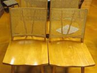 These chairs were developed by the Conant Ball