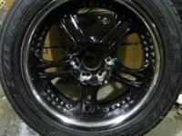 All 4 low profile rims for 20 tires. chevy 5 bolt
