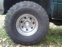 4 NEW LT35X12.50-15 GOODYEAR WRANGLER MT/R KEVLAR MUD