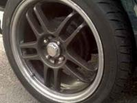 "Looking to trade for 14"" , 15"", or 16"" 4 lug rims with"