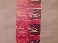 I have four tickets to Madame Tussauds Hollywood wax