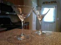 4 nice martini glasses for sale. $15 bucks... call,