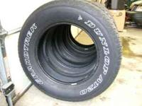 4 matching dunlop grandtrek at20 size (265/65r17) lots