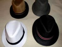 Four men hats for sale Different colors. You can buy